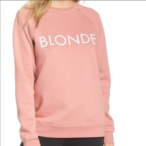 Brunette The Label BLONDE Dusty Rose Pink Sweater